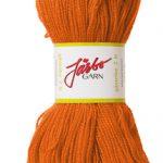Gästrike 2 trådigt ullgarn orange 9221