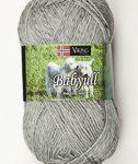 viking baby ull ljusgrå 313