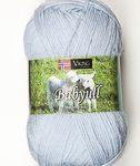 viking baby ull ljusblå 324
