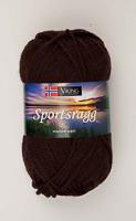 Viking Sportsragg mörkbrun 518