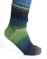 Viking Nordlys grön melerad 930