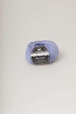 Svarta fåret Baby Merino blå 65