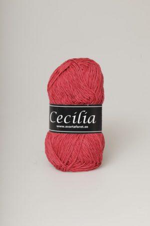 Svarta fåret Cecilia hallonröd 45