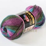 Mercan Batik lila-grön melerad 525